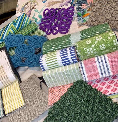 Tessuti e tappeti da esterno